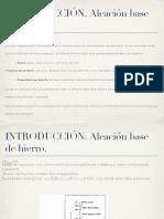 Introducción y Clasificacion Acero
