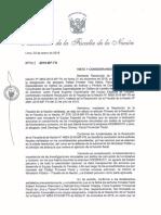 Resolución que deja sin efecto destitución de fiscales Vela Barba y Pérez Gómez