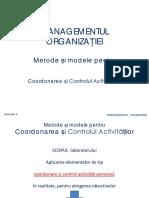 Laborator 5_Cap 4-Metode Și Modele Pt Coordonarea Și Controlul Activitățiilor v.1