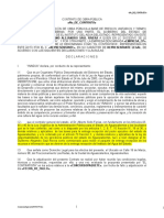 Modelo de Contrato 2011