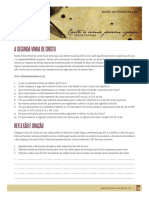 08 Carta a Uma Jovem Igreja - A Segunda Vinda de Cristo