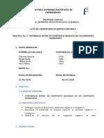 DIFERENCIA ENTRE UN COMPUESTO ORGÁNICO DE UN COMPUESTO INORGÁNICO