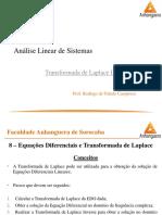 01_04 - Controle e Servomecanismos - Transformada de Laplace III