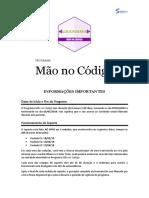 Softblue Informacoes Mao No Codigo