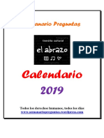 Calendario Preguntas 2019