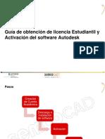 Instalación Software Autodesk Licencia Alumno GENERAL