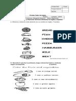 prueba Ingles Los Alimentos Octubre.docx