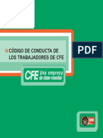 Codigo de Conducta Cfe 2011