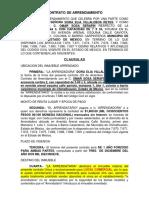 Formato Curriculum Vitae Policia Estatal