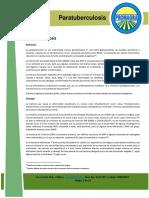 Revisión Bibliográfica Para Divulgativo Nº 35 - Paratuberculosis