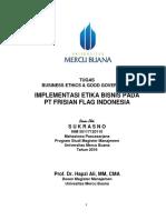 BE & GG, Sukrasno, Hapzi Ali, Penerapan Etika Bisnis Pada PT Frisian Flag Indonesia, Universitas Mercu Buana, 2018.PDF