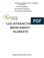 1 Interaction Alimentaire