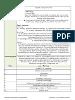 ped3141 - unit plan - habitats and communities
