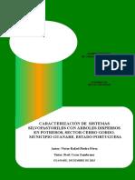 Caracterización de Sistemas Silvopastoriles Con Árboles Dispersos