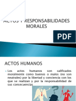 Actos morales