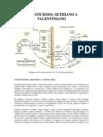 Gnosticismo Sethiano a Valentiniano