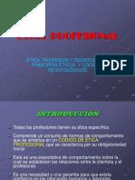 8. Ética Profesional