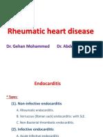 Rheumatic Heart Disease