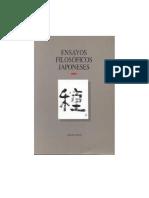 Ensayos Filosóficos Japoneses [Traducción, selección y prólogo de Agustín Jacinto Zavala]
