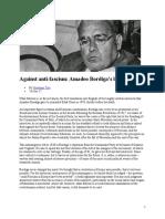 Against Anti-fascism Amadeo Bordiga's Last Interview