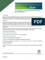 10.1 Guía Para La Anticoagulación y Profilaxis Con Heparina de Bajo Peso Molecular ESPAÑOL