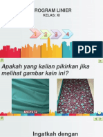 Ppt Program Linear