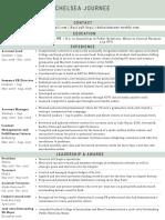 chelsea journee resume