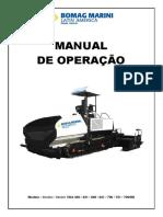 (13) Manual Operação