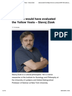 Zizek_2018_How Mao Would Have Evaluated the Yellow Vests – Slavoj Zizek