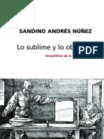 Andres-Lo Sublime y Lo Obsceno