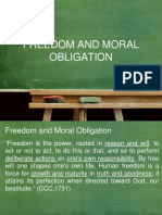 3.2 Freedom and Moral Obligation