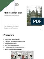 PhD Research Plan