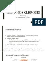 Timpanosklerosis