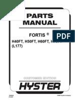Catalogo de Peças H40-H70FT - Sub Serie L177