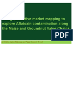 Using qualitative market mapping to explore Aflatoxin contamination along the Maize and Groundnut Value Chains