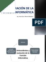 U1-Antecedentes y evolución de la Función Informática