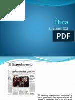 Ética en El Siglo XXI - Final