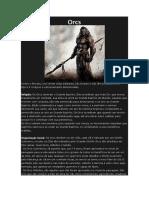 D&D 5e - Orcshire Pt 01 - Clãs