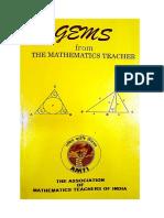 (RMO INMO IMO Olympiad ( Intermediate Class 11 and 12 )) S Muralidharan G R Vijayakumar-AMTI Gems From the Mathematics Teacher for RMO INMO IMO Olympiad ( Intermediate Class 11 and 12 )-AMTI Chennai (