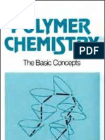 Polymer Chemistry the Basic Concepts Marcel Dekker 1984
