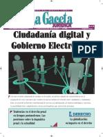 Ciudadanía Digital y Gobierno Electrónico - Autor José María Pacori Cari