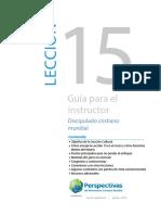 15_GUIA PARA EL INSTRUCTOR — LECCIÓN 15_Versión preliminar