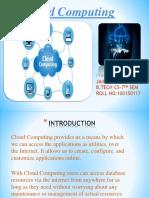 Cloud Computing Ppt CNS