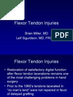 Flexor Tendon Injuries[1]