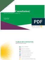 Sample Consultation Report
