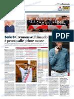 La Provincia Di Cremona 03-01-2019 - Serie B