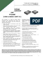 Ft230x Usb to Uart Ic 1917662