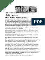Steve Martin Wildlife PDF
