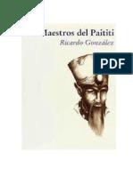 GONZALEZ Ricardo Los Maestros Del Paititi Converted