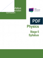 Physics Stage 6 Syllabus 2017